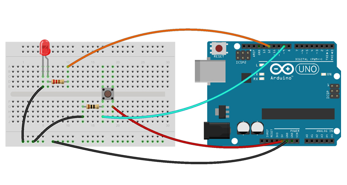 Arduino Switch Example