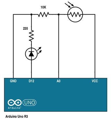Arduino Photoresistor Project